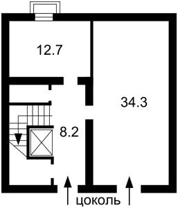 Квартира Добровольческих батальонов (Панфиловцев), 7-9, Киев, H-39479 - Фото2