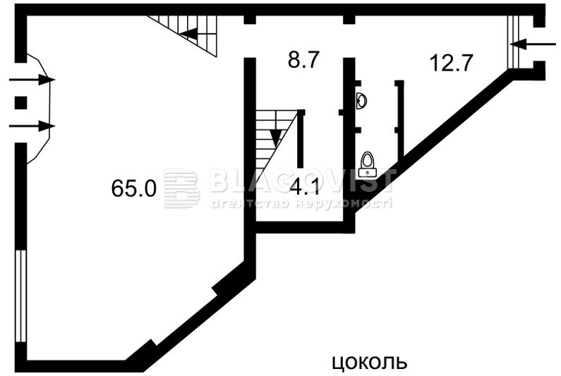 Магазин, F-37821, Гринченко Николая, Киев - Фото 1