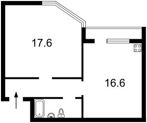 Квартира Гришко Михаила, 9, Киев, R-5456 - Фото2