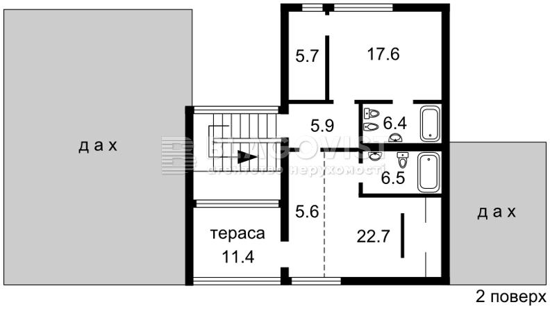 Дом M-28386, Лебедевка (Вышгородский) - Фото 4