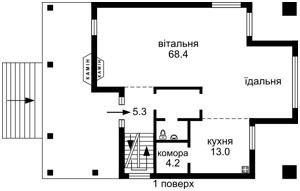 Дом Стоянка, M-28808 - Фото1