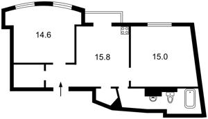 Квартира Гоголевская, 43, Киев, F-37743 - Фото 2