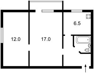 Квартира Подвойського, 4, Київ, X-33737 - Фото2