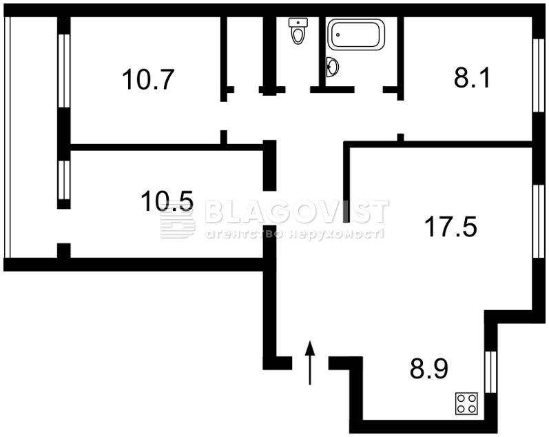 Квартира H-39358, Автозаводская, 5а, Киев - Фото 3
