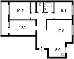 Квартира Автозаводская, 5а, Киев, H-39358 - Фото2