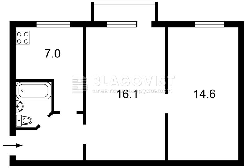 Квартира Z-901994, Науки просп., 34, Киев - Фото 2
