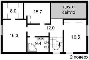 Будинок Козин (Конча-Заспа), R-6991 - Фото 3