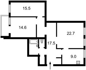 Квартира Бульварно-Кудрявская (Воровского) , 15, Киев, R-6005 - Фото2