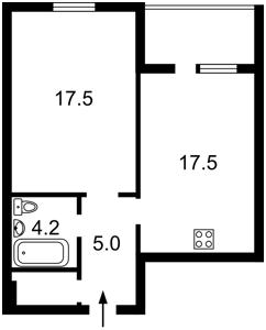 Квартира Науки просп., 60а, Киев, Z-104830 - Фото2
