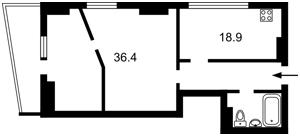 Квартира Деловая (Димитрова), 2б, Киев, Z-145486 - Фото2