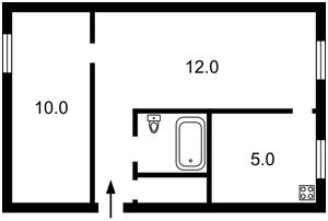 Квартира Сковороды Григория, 3, Киев, Z-148914 - Фото2