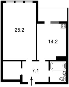 Квартира Голосеевская, 13а, Киев, L-10335 - Фото2