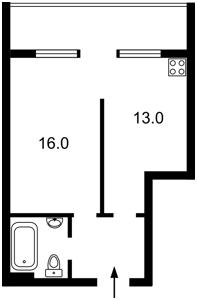Квартира Петрицкого Анатолия, 23, Киев, Z-1336107 - Фото2