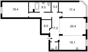 Квартира Дмитриевская, 75, Киев, E-36492 - Фото 2