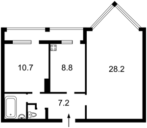 Квартира Хмельницкая, 10, Киев, Z-164553 - Фото2