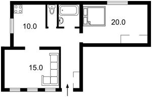 Квартира Межигорская, 61, Киев, C-103127 - Фото 2