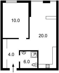 Квартира Регенераторна, 4 корп.1, Київ, L-24451 - Фото2