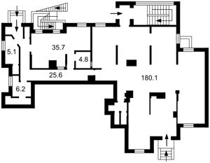 Нежилое помещение, Z-232172, Калнишевского Петра (Майорова М.), Киев - Фото 8