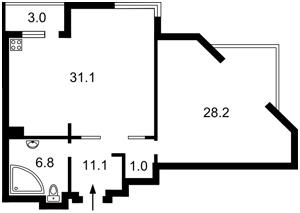 Квартира Солом'янська, 15а, Київ, R-9202 - Фото 2