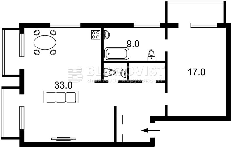 Квартира H-39738, Шевченко Тараса бульв., 2, Киев - Фото 5