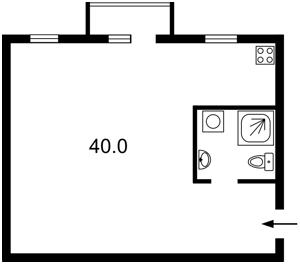 Квартира F-38065, Лабораторная, 11, Киев - Фото 2