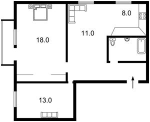 Квартира Леси Украинки бульв., 19, Киев, Z-189204 - Фото2