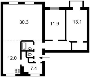 Квартира C-104122, Шелковичная, 32/34, Киев - Фото 6