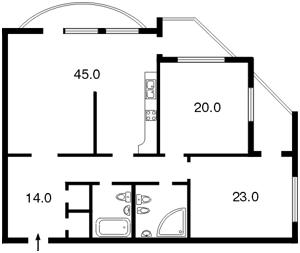 Квартира D-10788, Героев Сталинграда просп., 22, Киев - Фото 4