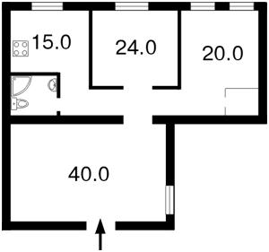 Квартира Шота Руставели, 40, Киев, E-12245 - Фото 2