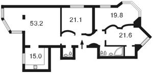 Квартира Героїв Сталінграду просп., 24, Київ, Z-877429 - Фото2